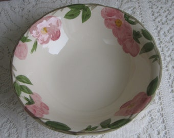Franciscan Desert Rose Vegetable Bowl 1949 – 1953 Vintage Dinnerware and Replacements Gladding McBean