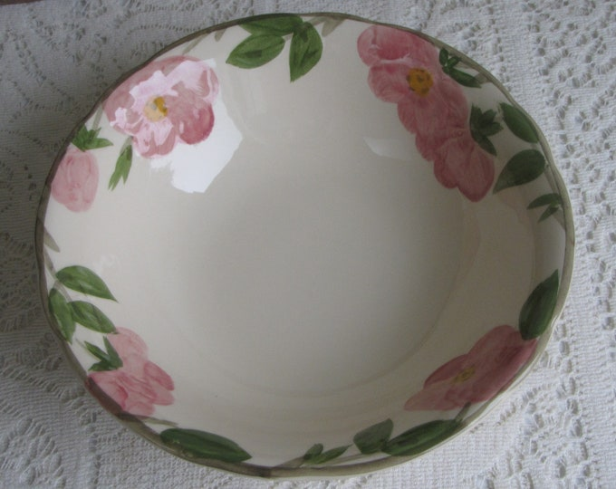 Franciscan Desert Rose Vegetable Bowl 1949 – 1953 Vintage Dinnerware and Replacements Gladding McBean