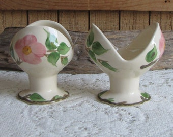 Franciscan Desert Rose Candle Holder Vintage Dinnerware and Replacements Made in England