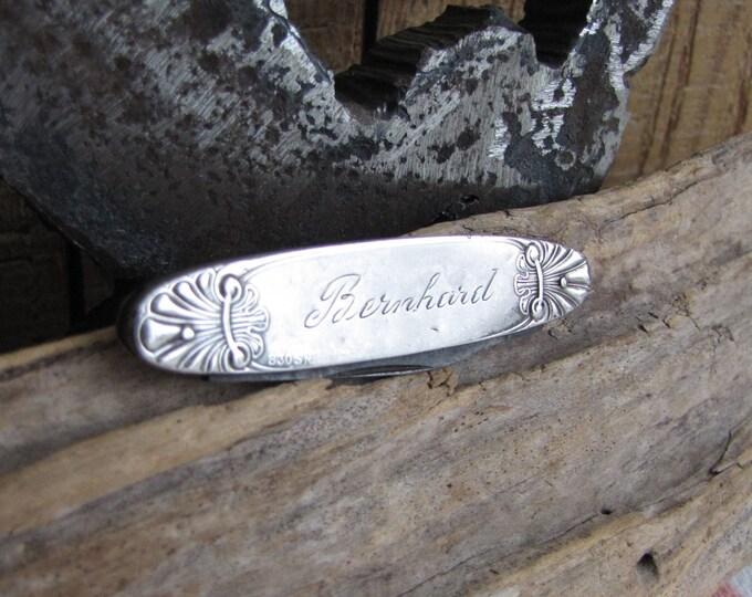 Vintage Sterling Silver Fruit Knife Pocketknives