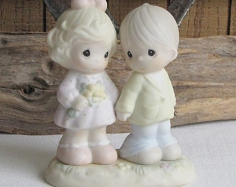 Precious Moments You're Forever in My Heart 1996 Vintage Collectibles and Figurines