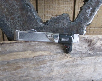 Craftsman Drill Tie Clip Vintage Men's Jewelry and Accessories