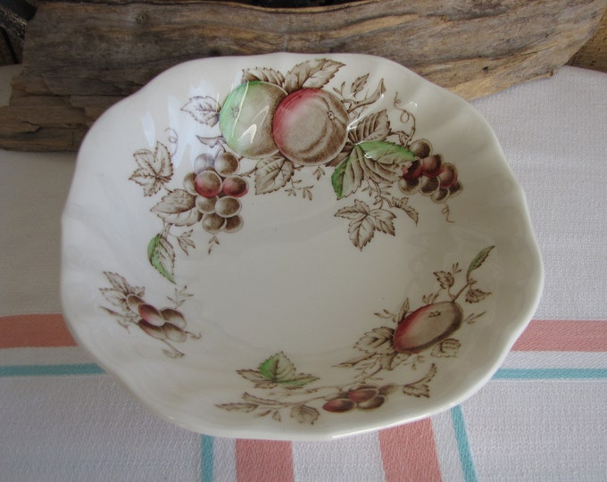 Harvest Time Cereal Bowl Johnson Bros 1967 – 1978 Vintage Dinnerware and Replacements