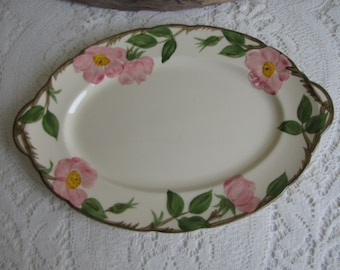 Franciscan Desert Rose Platter Vintage Dinnerware and Replacements Made in California 1949-1953
