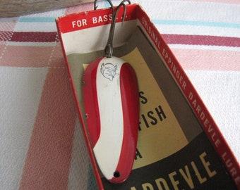 Dardevle fishing spoon lure