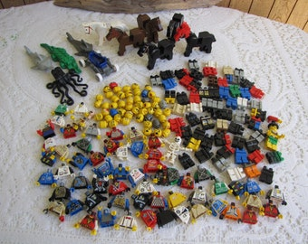 Legos Specialty Bricks People and Animals Props Vintage Toys and Building Blocks