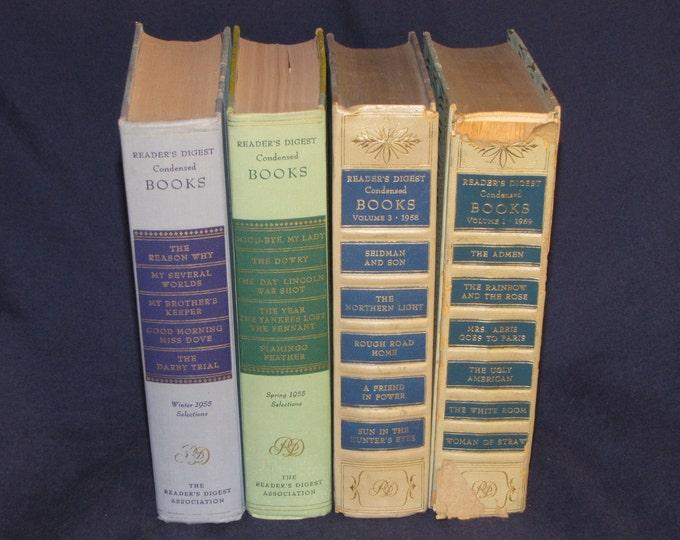Readers Digest Condensed Books 1950's