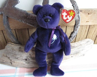 Ty Beanie Babies Princess Vintage Toys and Collectibles 1998