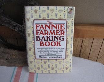 The Fannie Farmer Baking Cookbook Marion Cunningham 1996 Vintage Cookbooks
