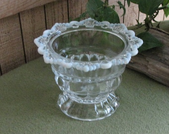 Mosser Opalescent Sugar Bowl Vintage Dinnerware and Replacements