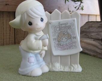 Precious Moments Sammy's Circus Figurine Trumpet Symbol 1994 Circus Collectible Figures Retired