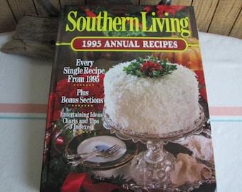 Southern Living 1995 Annual Recipes Cookbook Vintage Cookbooks