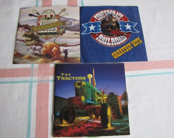 Country Music Compact Discs 3 CDS Kentucky Headhunters, Confederate Railroad, The Tractors Vintage Country Music and CDs 1990s