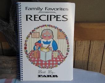 Farr Company Cookbook 1997 Vintage Cookbooks