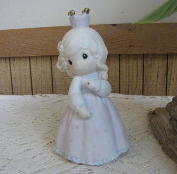 Precious Moments Pretty As A Princess Figurine Sailboat 1995 Etsy