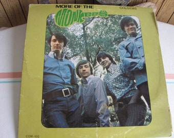 More of the Monkees Album Vintage Music and Vinyl 1966
