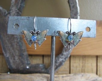 Butterfly Earrings Vintage Jewelry and Accessories