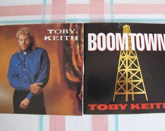 Toby Keith Compact Discs Set of 2 1990s Vintage Country Music