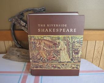 The Riverside Shakespeare 1974 Vintage Literature Textbooks