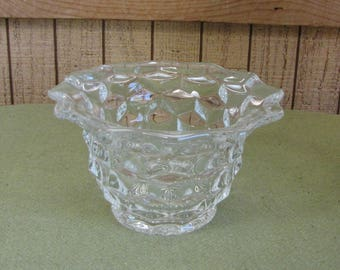 Fostoria Glass American Mayonnaise Bowl Vintage Dinnerware and Replacements