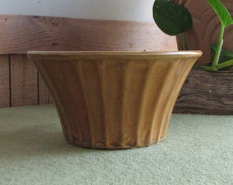 Brown McCoy Econo Line Planter Vintage Planters and Pots Mid Century Modern Home Decor
