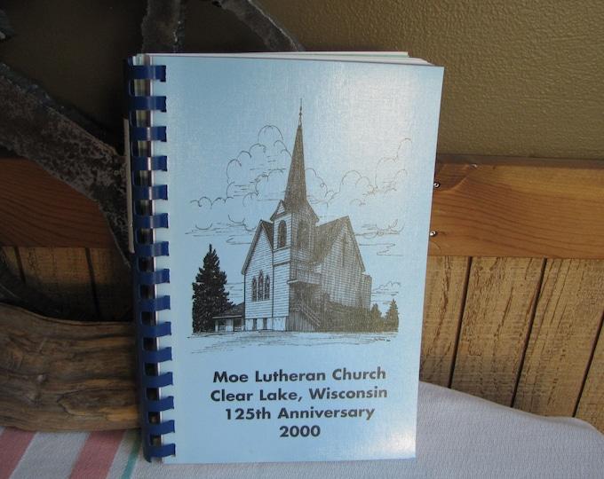 Moe Lutheran Church 125th Anniversary Cookbook 2000 Vintage Cookbooks