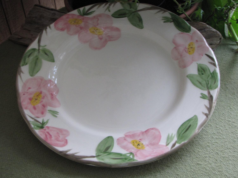 Vintage Franciscan Desert Rose Dinner Plate England Backstamp 1976 ...
