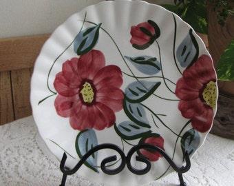 Southern Pottery Blue Ridge plate Becky Vintage Plates