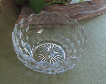 Fostoria Glass American Serving Bowl Vintage Dinnerware and Replacements