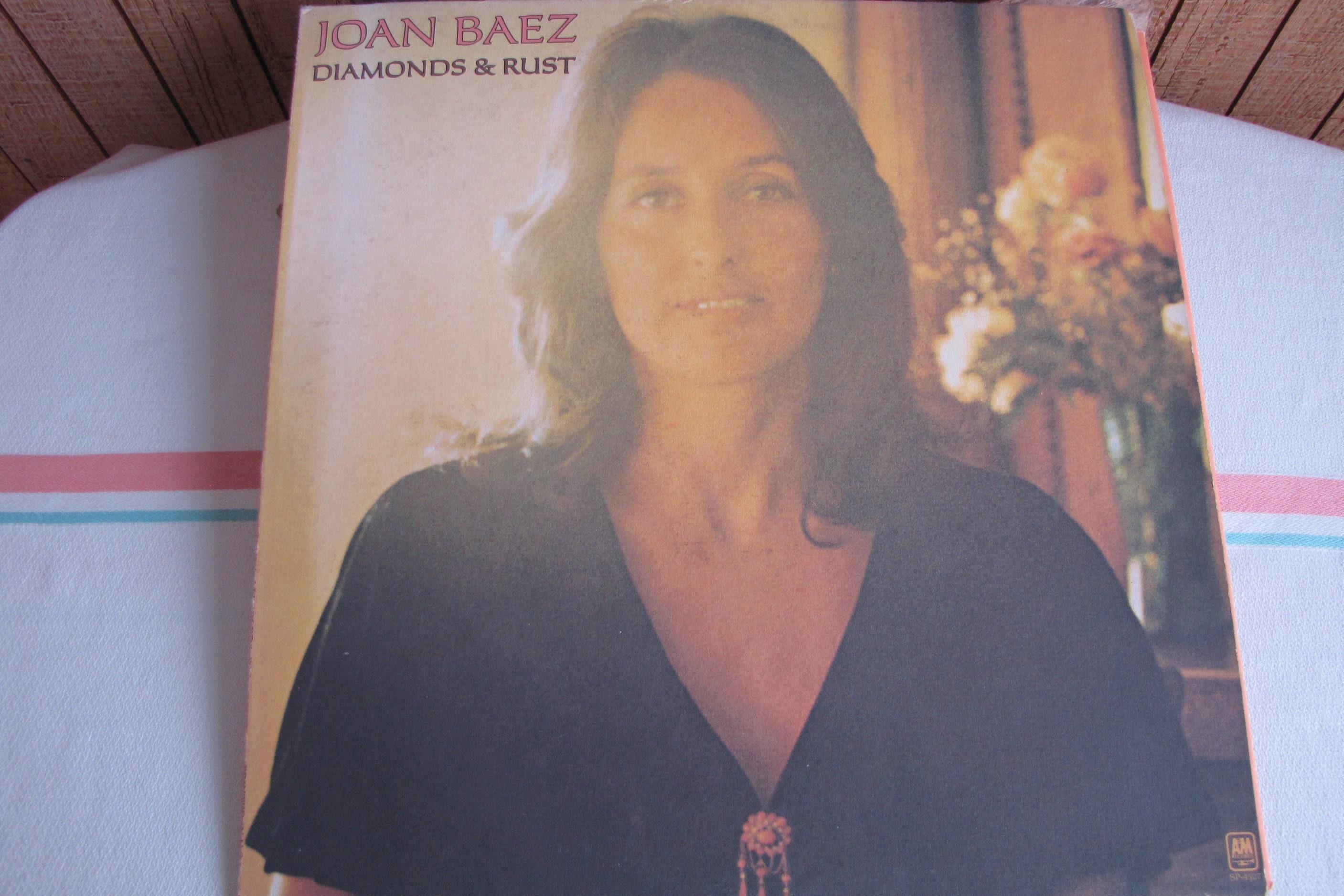 Joan Baez Diamonds and Rust Album Vintage Music and Vinyl 1975