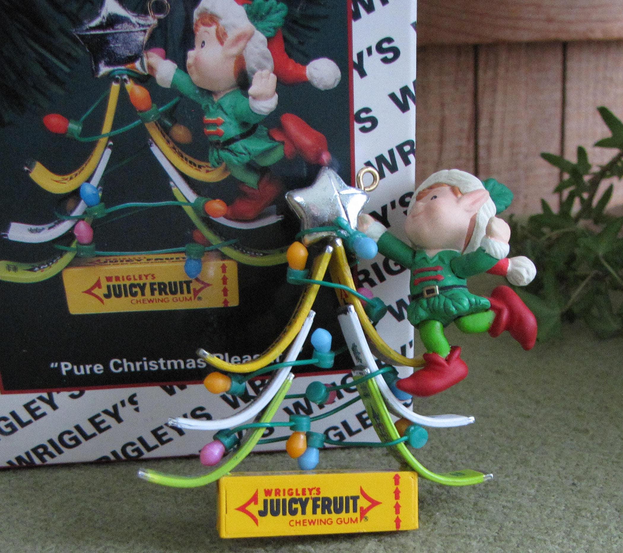 ENESCO 1994 WRIGLEY/'S PURE CHRISTMAS PLEASURE ORNAMENT