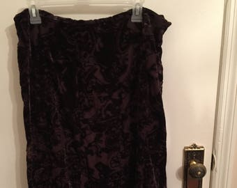 Coldwater Creek Dark Brown Skirt