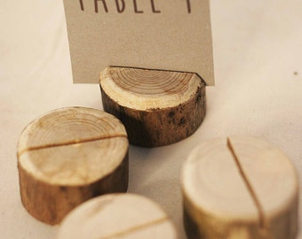 90 pieces rustic place card holders + 90 name tags Wedding placecard, name holdes.