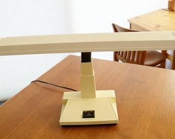 Desk Lamp Portable Flexable Neck Florescent Tube Lights 1960s