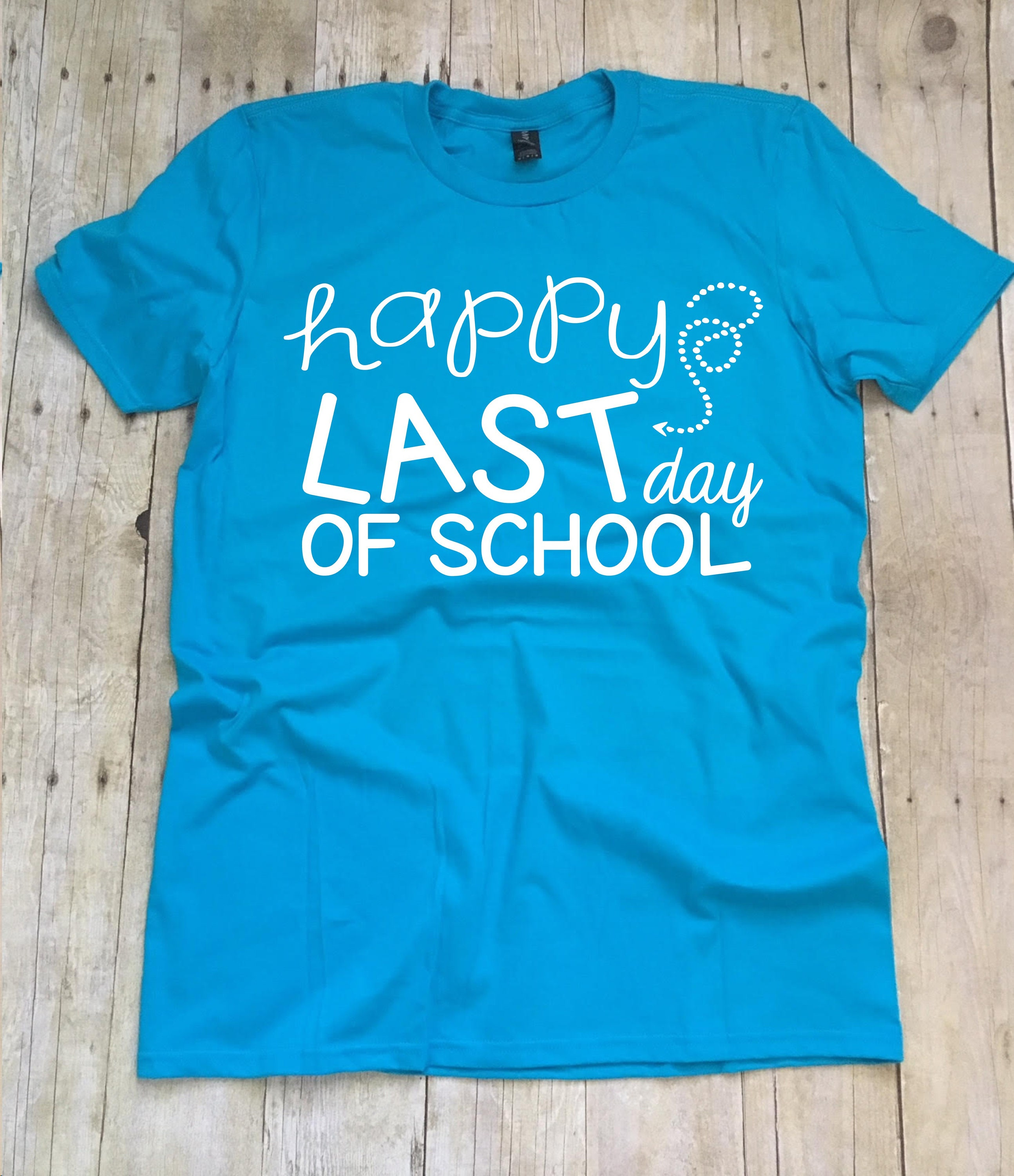 Happy Last Day Of School Shirt Teacher Shirt Teacher Etsy