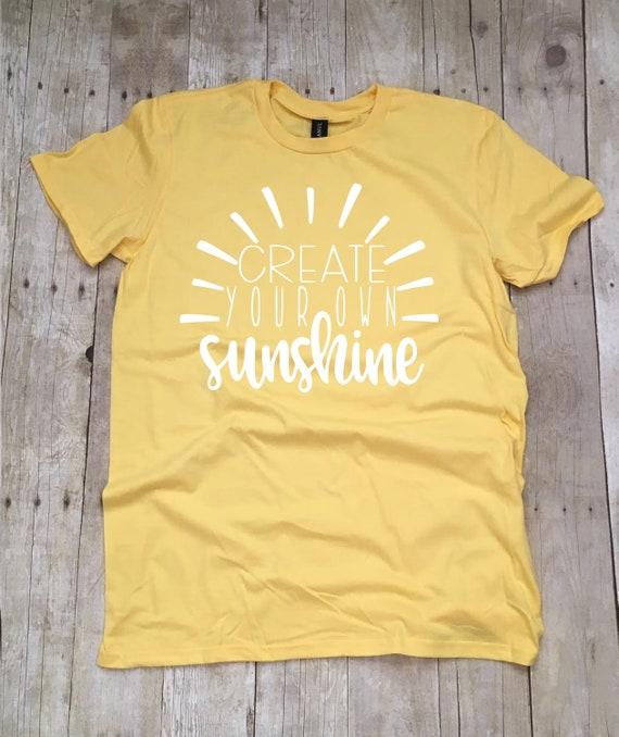 2ef46c500a92 Teacher Shirts Create Your Own Sunshine Teacher T-Shirt