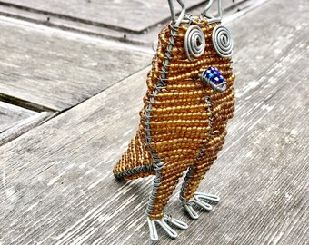 Beaded Owl // Maasai