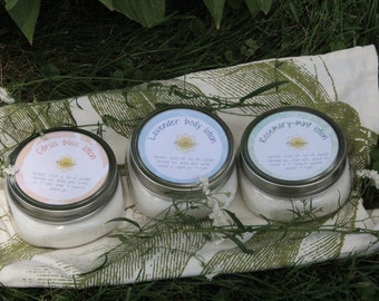 Handmade body lotion