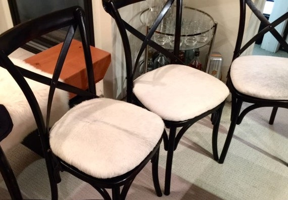 Stoel Op Maat : Koeienhuid stoel kussens op maat seat cover zitkussen etsy