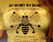 Vegan T-Shirt Honey Bee T...
