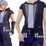 Riku Kingdom Hearts 3 Hooded Dress
