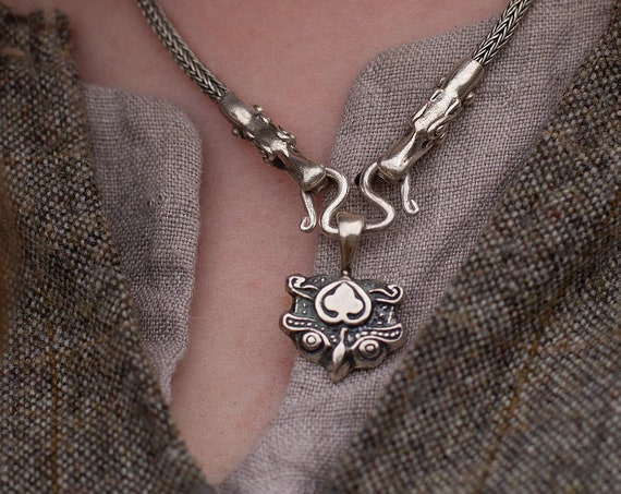 Valkyrie Pendant in Bronze or Sterling Silver