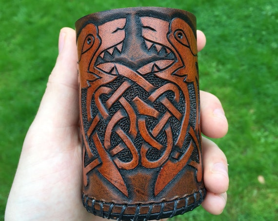 Celtic Dogs Dice Cup.