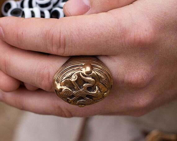 Viking Age Rusk settlement signet ring