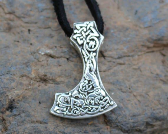 Sterling Silver Hand Casted Mjolnir