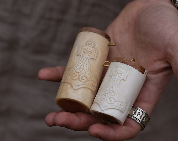 Mjolnir Viking Age Salt/Spice Container