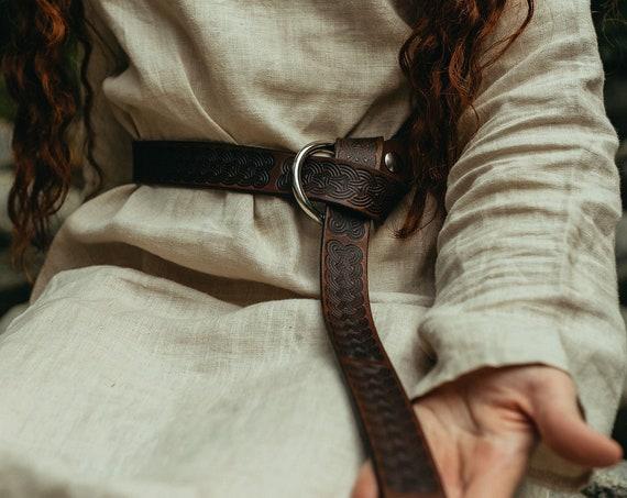 Ladies Medieval Ring Belt With Viking Age Art