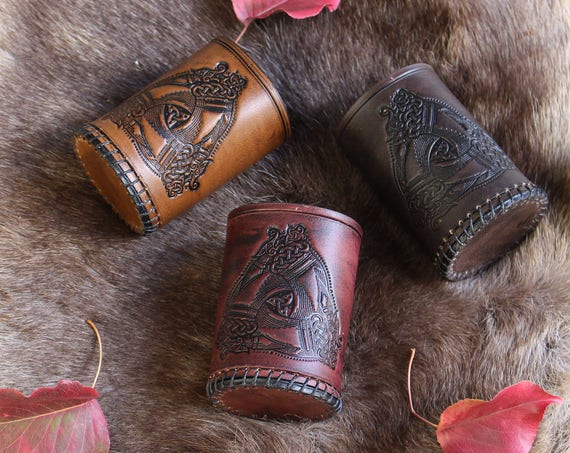Odins Horns Liars Dice Cup.