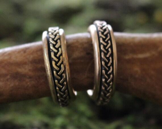 Braided   spinning ring