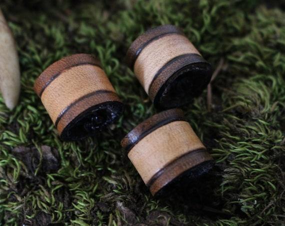 Viking Hair/Beard Bead Made From Leather
